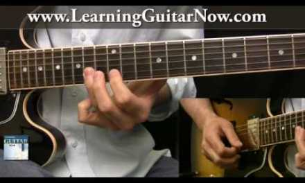 Blues Guitar Lesson: Dickey Betts Style Guitar Lick