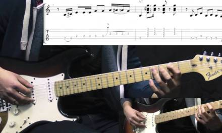 SRV – Mary Had A Little Lamb – Blues Guitar Lesson (with TABS)