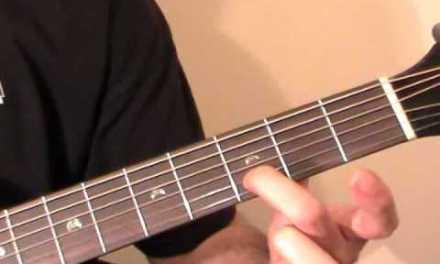Canon Acoustic Guitar Lesson
