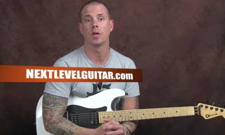 Hard rock shred lead guitar lesson scale practice patterns using number groupings soloing licks