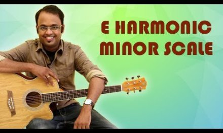 How To Play – E Harmonic Minor Scale – Guitar Lesson For Beginners