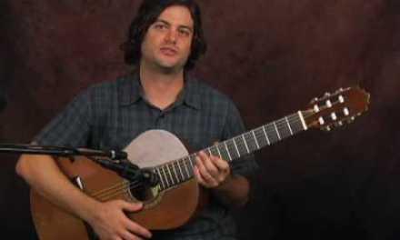 Gear lesson on nylon string classical guitar differences vs acoustic Esteve Zambra
