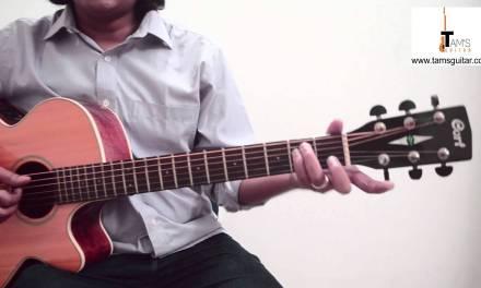 Hello (Lionel Richie) chords guitar lesson