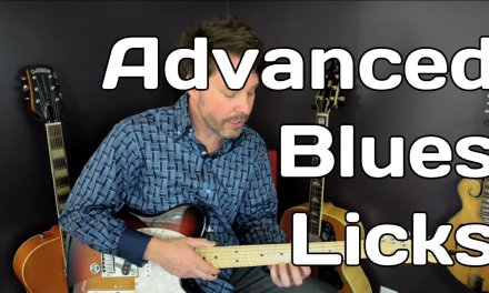 Guitar Blues Licks – Free Guitar Lesson Advanced – Video 6 of 7