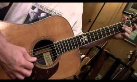 """Bluegrass Guitar Lesson 3 — """"Walking"""" Between Chords"""
