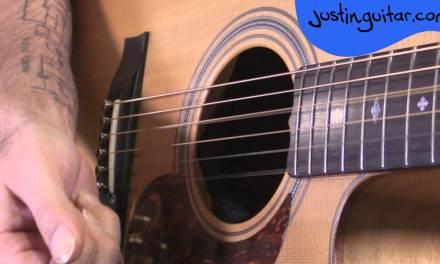 Rolling Chords Acoustic Fingerstyle Technique  – JustinGuitar – Guitar Lesson [TE-705]