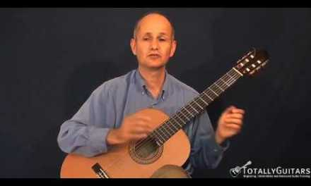 The Canon In D Acoustic Guitar Lesson – Johann Pachelbel