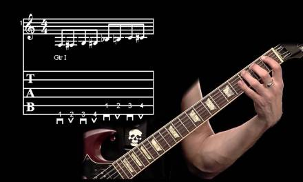 CHROMATIC SCALE GUITAR LESSON: EASY HOW TO PLAY CHROMATIC SCALE EXERCISE 1