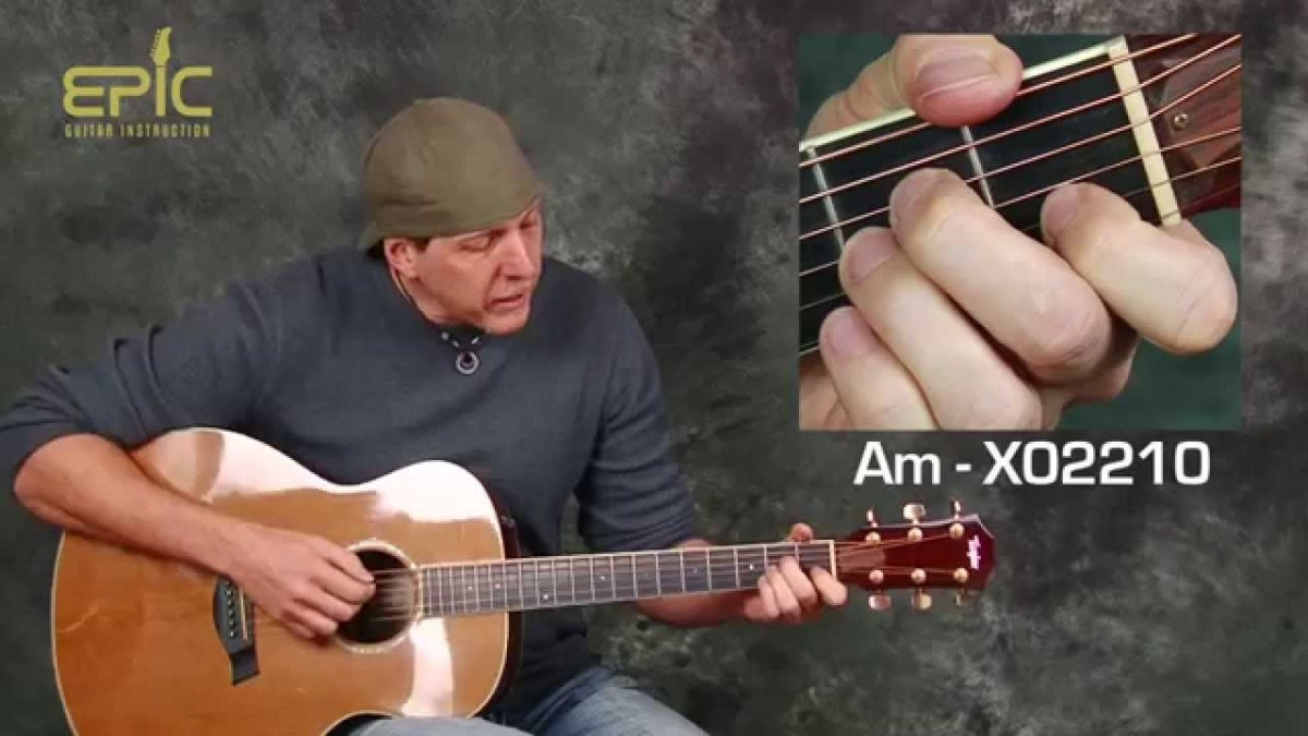 Learn Stone Temple Pilots Creep Easy Acoustic Guitar Lesson With