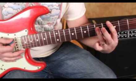 John Mayer – Something Like Olivia – Blues Guitar Lesson – How to Play – Fender Strat