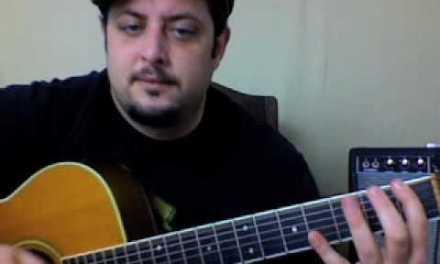 Acoustic Guitar Lesson – Jack Johnson – Taylor super simple song
