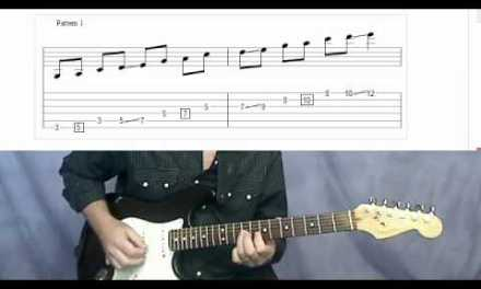 "The ""Secret"" Pentatonic Scale Shapes – Lead Guitar Lesson [GuitarTeacher.com]"
