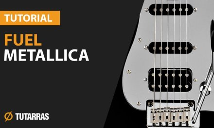 How to play FUEL from Metallica – Electric GUITAR LESSON