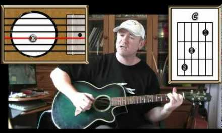 Amazing Grace – Acoustic Guitar Lesson (4 open chords – easy picking)