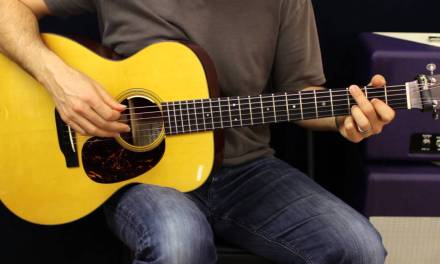 Acoustic Guitar Lesson – Drop D Tuning – Chords – Rhythm Ideas – EASY