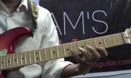 Guitar Lesson:How to practice Major scale (www.tamsguitar.com) with free backing track
