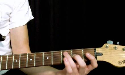 How To Play An Open C Major Scale Guitar Lesson