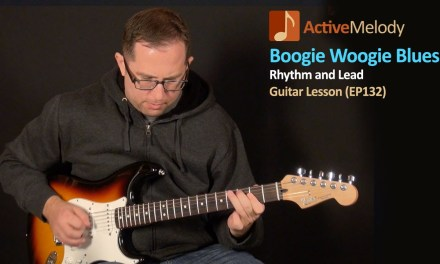 Boogie Woogie Blues Guitar Lesson – EP132