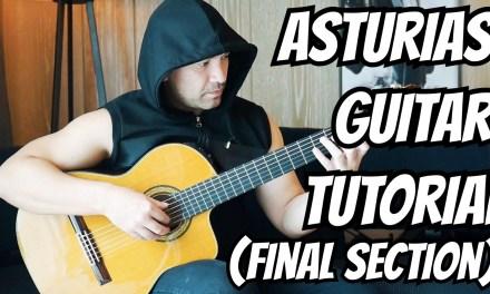 "Guitar Lesson ""Asturias"" (Leyenda) I. Albeniz – Classical Guitar Tutorial #3 Note-By-Note+Free Tabs"