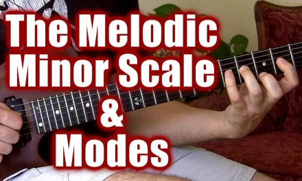 Melodic Minor Scale & How to Convert C Major Licks, Jazz Soloing Lesson, Free Guitar Lessons Pro