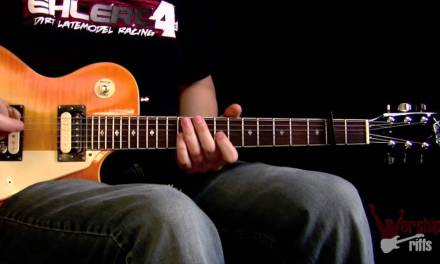 Our Love Is Loud : Electric Guitar Lesson (David Crowder Band)