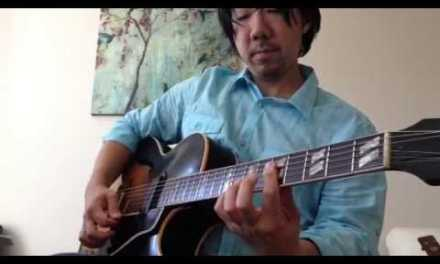 """""""If I Had You"""" for Easy Jazz Guitar"""