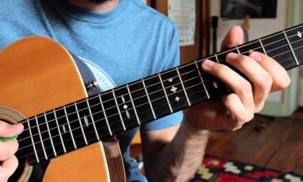 Easy Lead Guitar Lesson – Following a Chord Progression