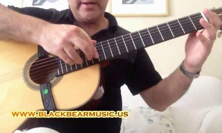ARTIFICIAL HARMONICS on Classical Guitar – guitar lesson