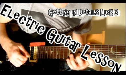Ionian Mode – Four Licks – Electric Guitar Lesson for Advanced – FREE TAB –