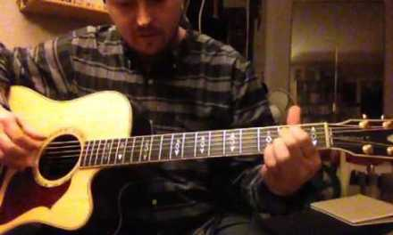Till its gone Yelawolf acoustic guitar lesson
