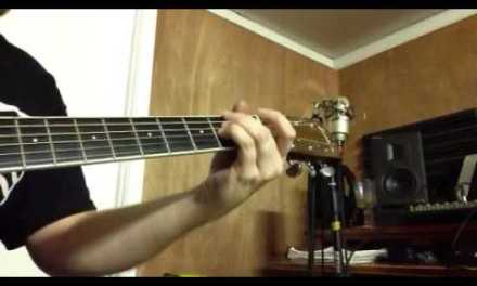 blues guitar solo – me playing acoustic guitar