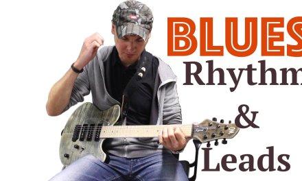 Blues Guitar Lesson Rhythm + Lead