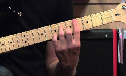 Seventh Chords from the A Major Scale Guitar Lesson