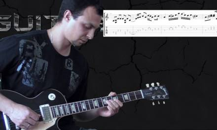 Cream – Crossroads – Blues Guitar lesson (w/Tabs)
