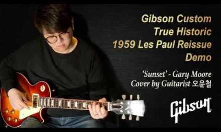 [MusicForce] Gibson True Historic 1959 Les Paul Reissue Demo – Guitarist 오윤철(Sunset-Gary Moore)