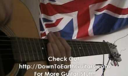 Lead Guitar Lesson – A Minor Pentatonic Scale Explained –  Free Acoustic Guitar Lesson