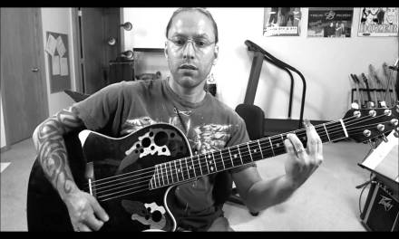 Guitar Lesson –  Using 6th String Barre Chords to play Hook by Blues Traveler Steve Stine