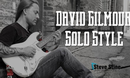 Steve Stine Guitar Lesson – Learn David Gilmour Solo Style