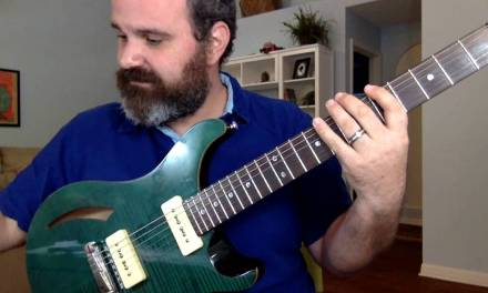 The ONLY Pentatonic Scale You Need!! The NEVERLOST System! With Chart.
