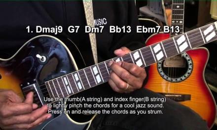 How To Play THE GIRL FROM IPANEMA  Jobim/Gilberto Guitar EricBlackmonMusic