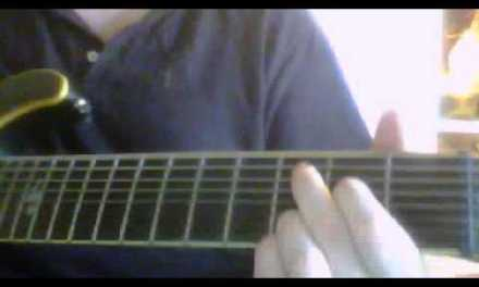cant you see guitar lesson (with pentatonic scale)