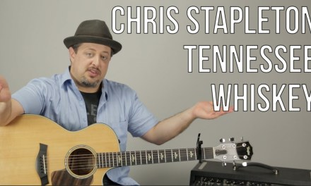 Chris Stapleton – Tennessee Whiskey – Guitar Lesson – How To Play Super Easy Beginner Acoustic