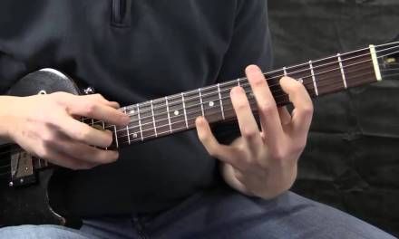 """Guitar Lesson – Learn How To Play """"Hot For Teacher Intro"""" By Van Halen"""