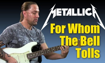 """Learn too Play """"For Whom The Bell Tolls"""" by Metallica (Guitar Lesson)"""
