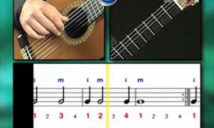 Ex015 How to Play Guitar – Classical Guitar Lessons for Beginners