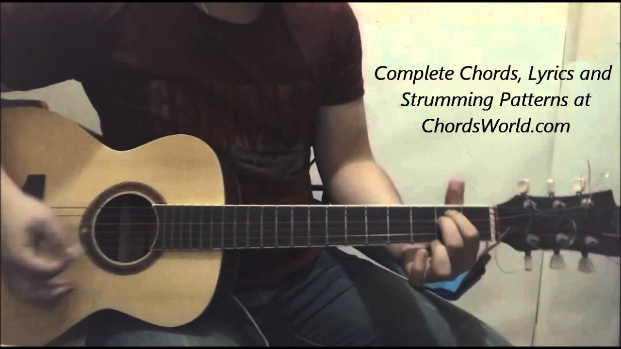 Justin Bieber Company Chords Guitar Lesson The Glog