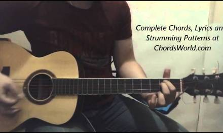 Justin Bieber Company Chords (Guitar Lesson)