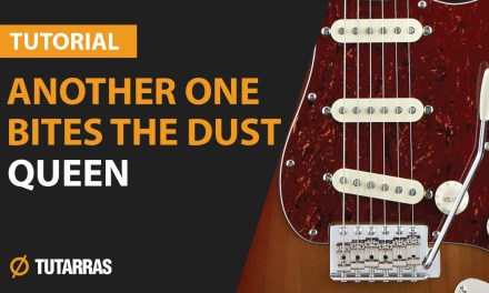 ANOTHER ONE BITES THE DUST – QUEEN How to play – Electric GUITAR LESSON