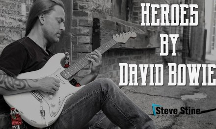 Steve Stine Easy Guitar Lesson – How to Play Heroes by David Bowie