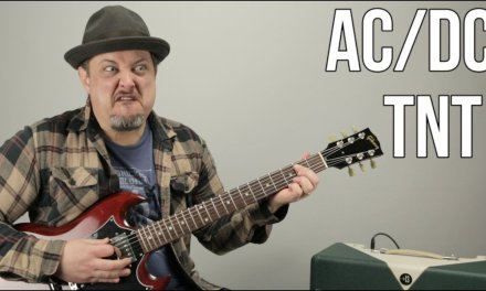 AC/DC – TNT – How to Play TNT by ACDC Angus Young – Easy Power Chords